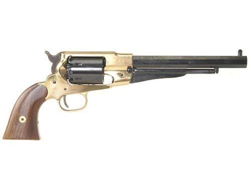 Pietta 1858 Remington Brass Frame Black Powder Revolver 44 Caliber - letter of firing