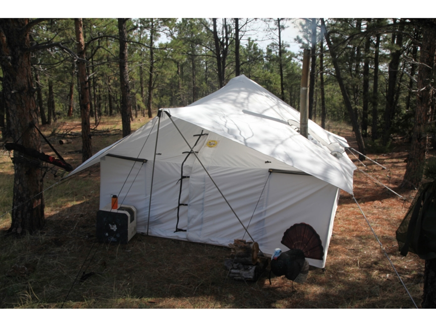 Montana Canvas Spike III 10oz. Canvas tent package