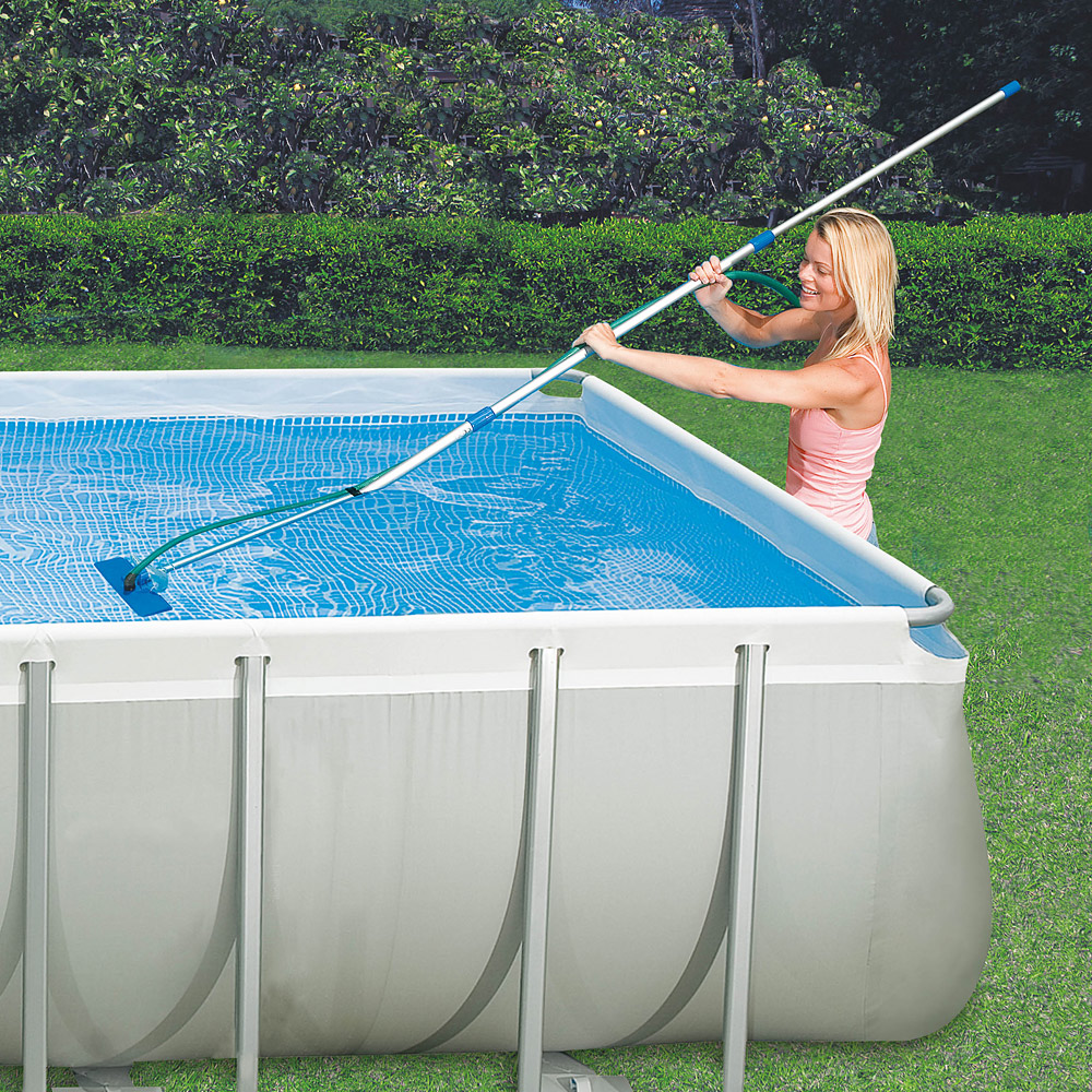 Pool Reinigungsset Intex Intex Pool Zubehör Intex Swimming Pool Easy Set 457x122