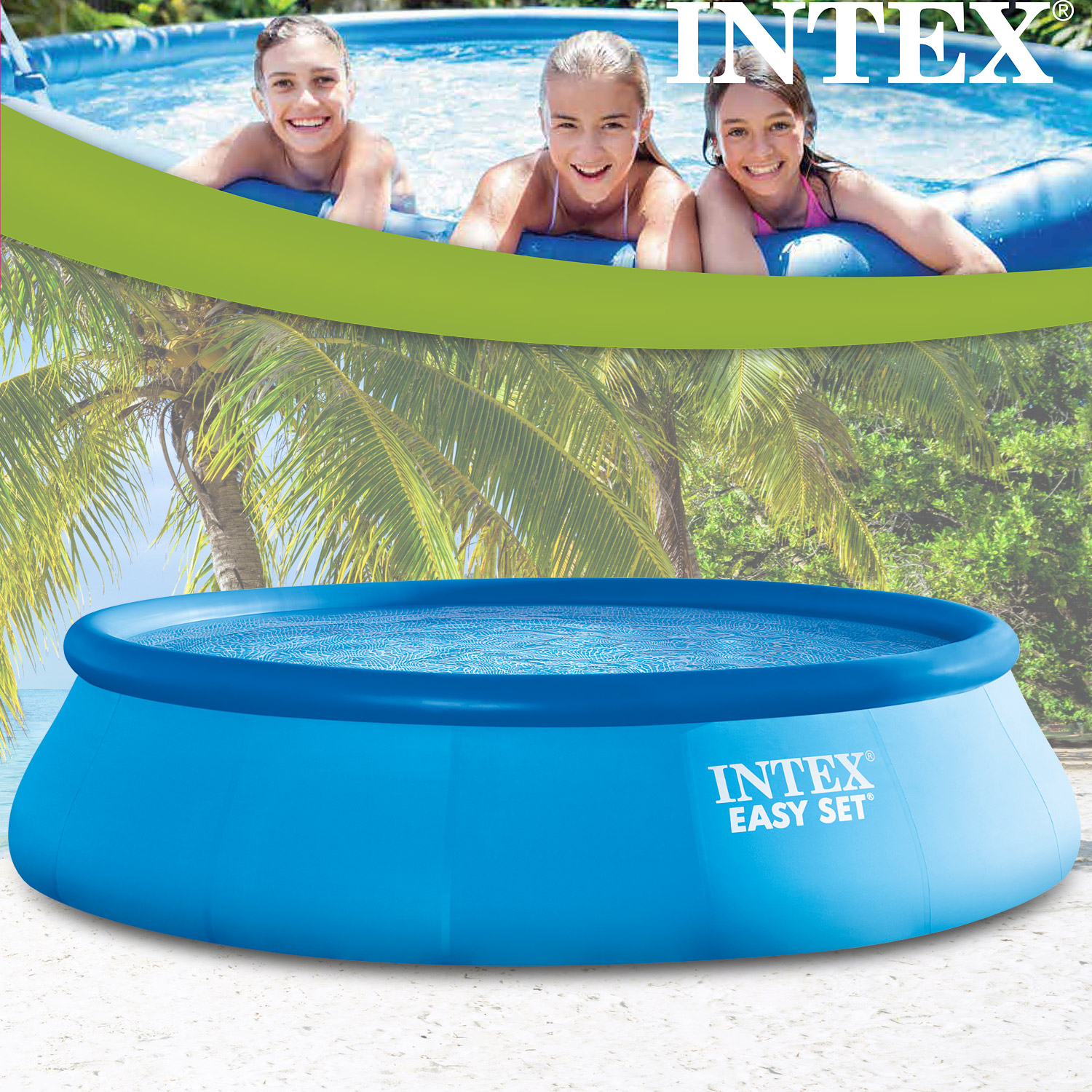 Intex Pool Ohne Filteranlage Intex Swimming Pool Easy 488x107 Cm Ohne Zubehör
