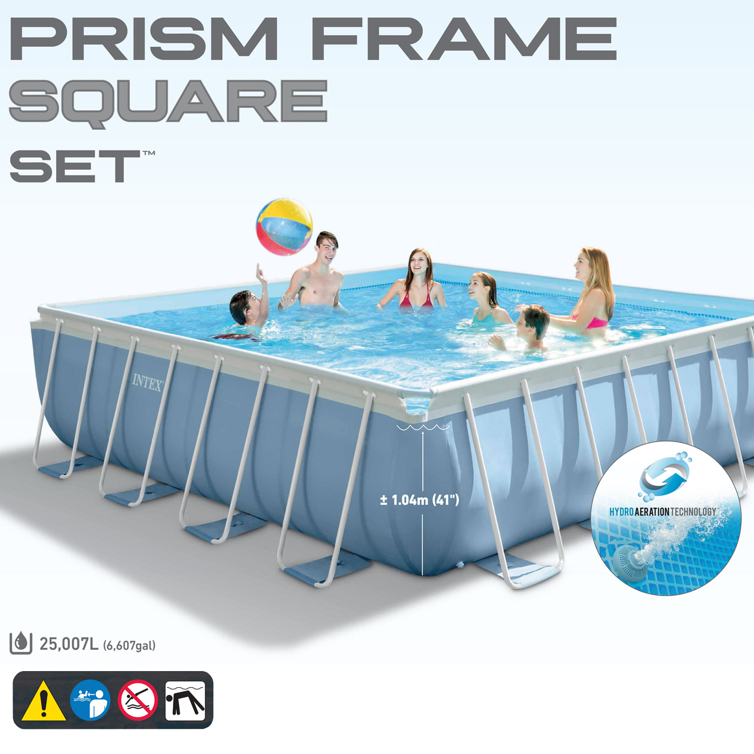 Pool Filteranlage Set Intex Frame 488x488x122 Cm Pool Set Kaufen Auf Ricardo Ch