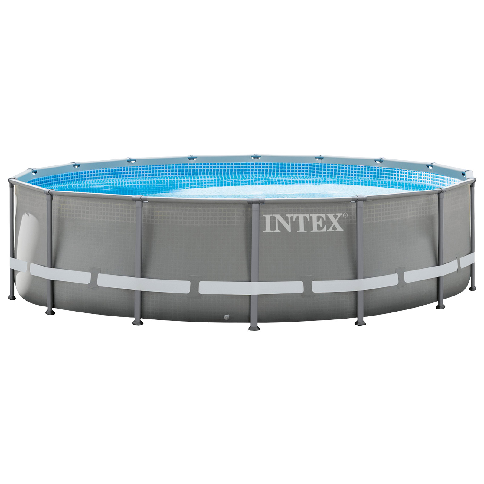 Pool Sandfilteranlage Trotzdem Chlor Intex 488x122 Cm Swimming Pool Frame Set Mit Sandfilter Leiter