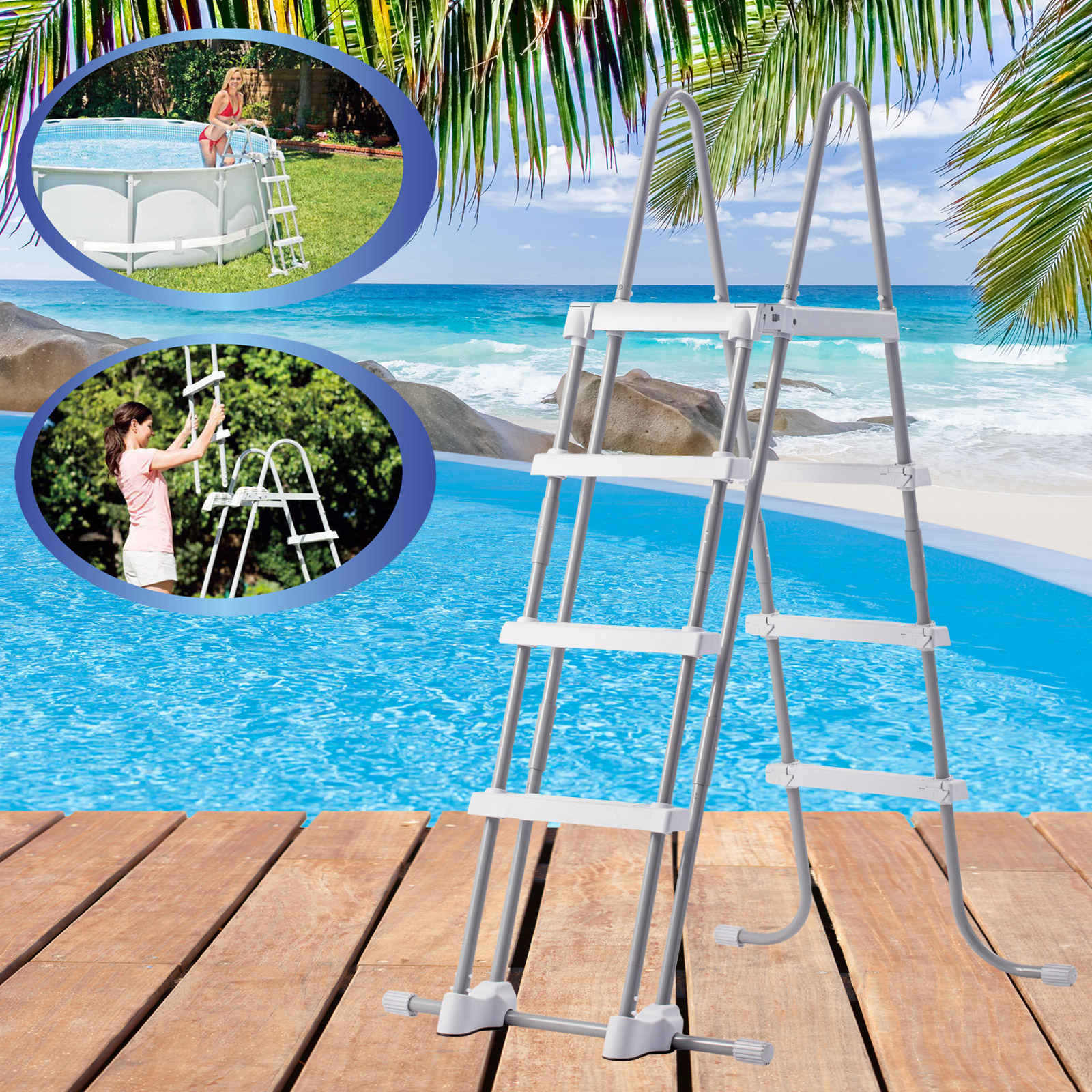 Pool Solarfolie Reinigen Intex 488x122 Cm Swimming Pool Frame Set Mit Sandfilter Leiter