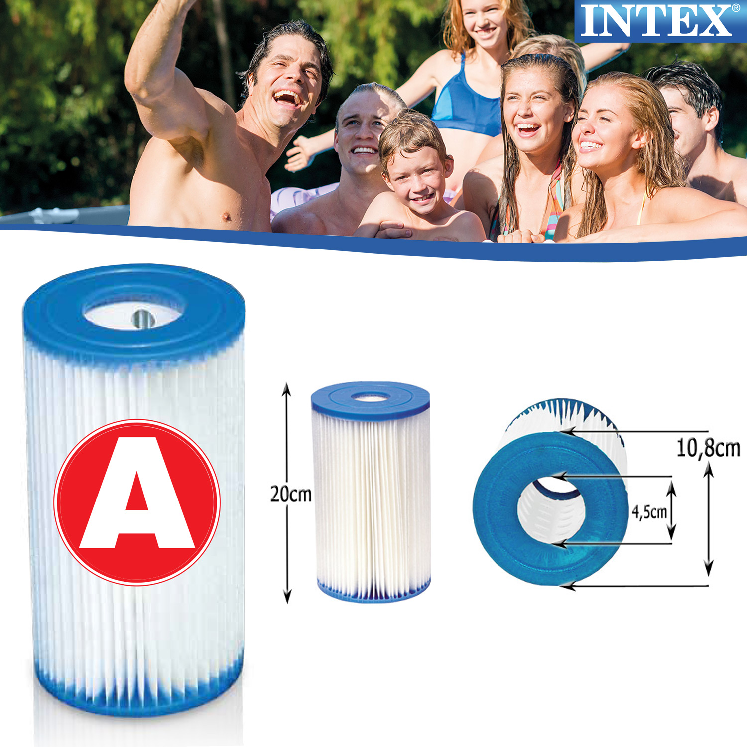 Quick Pool Reinigen Intex Pool Filter Pumpe Kartuschen Ersatzfilter