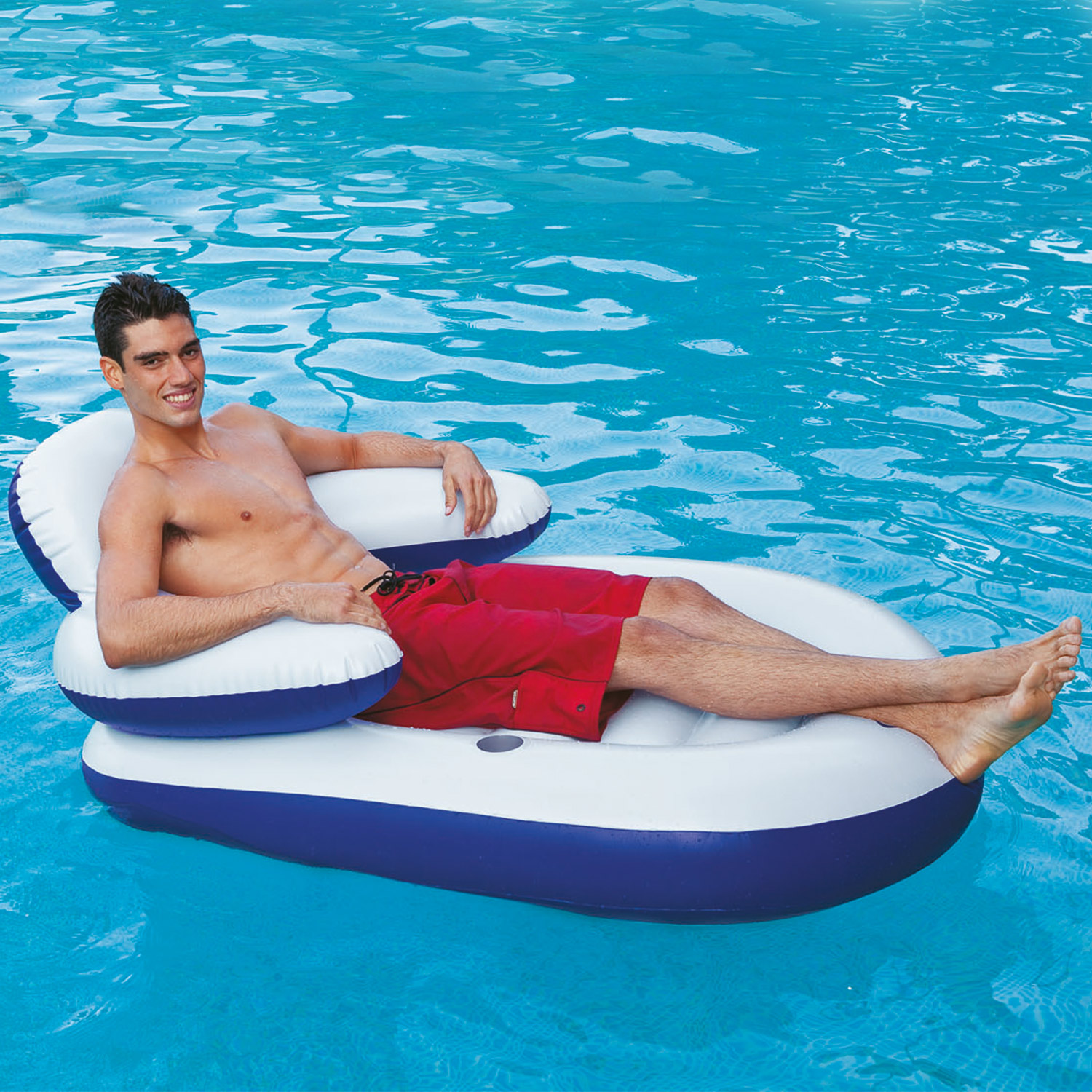 Intex Lounge Sessel Intex Schwimmliege Pool Liege Sessel Lounge Wasserliege Badeinsel