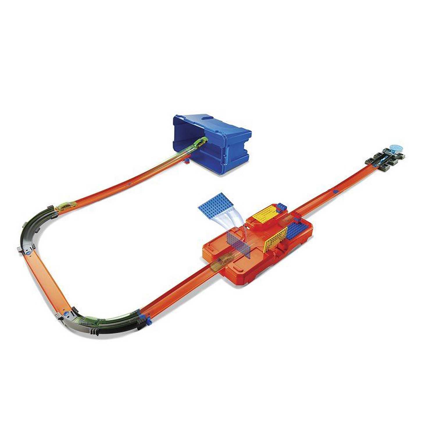 Cooles Poolzubehör Mattel Hot Wheels Track Builder Stuntbox Kiste Stunt
