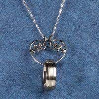 Heart Ring Holder Pendant - Necklace Ring Holder - Miles ...