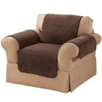 Sherpa Chair Protector by OakRidge Comforts - Miles Kimball
