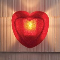 Heart Porch Light Cover