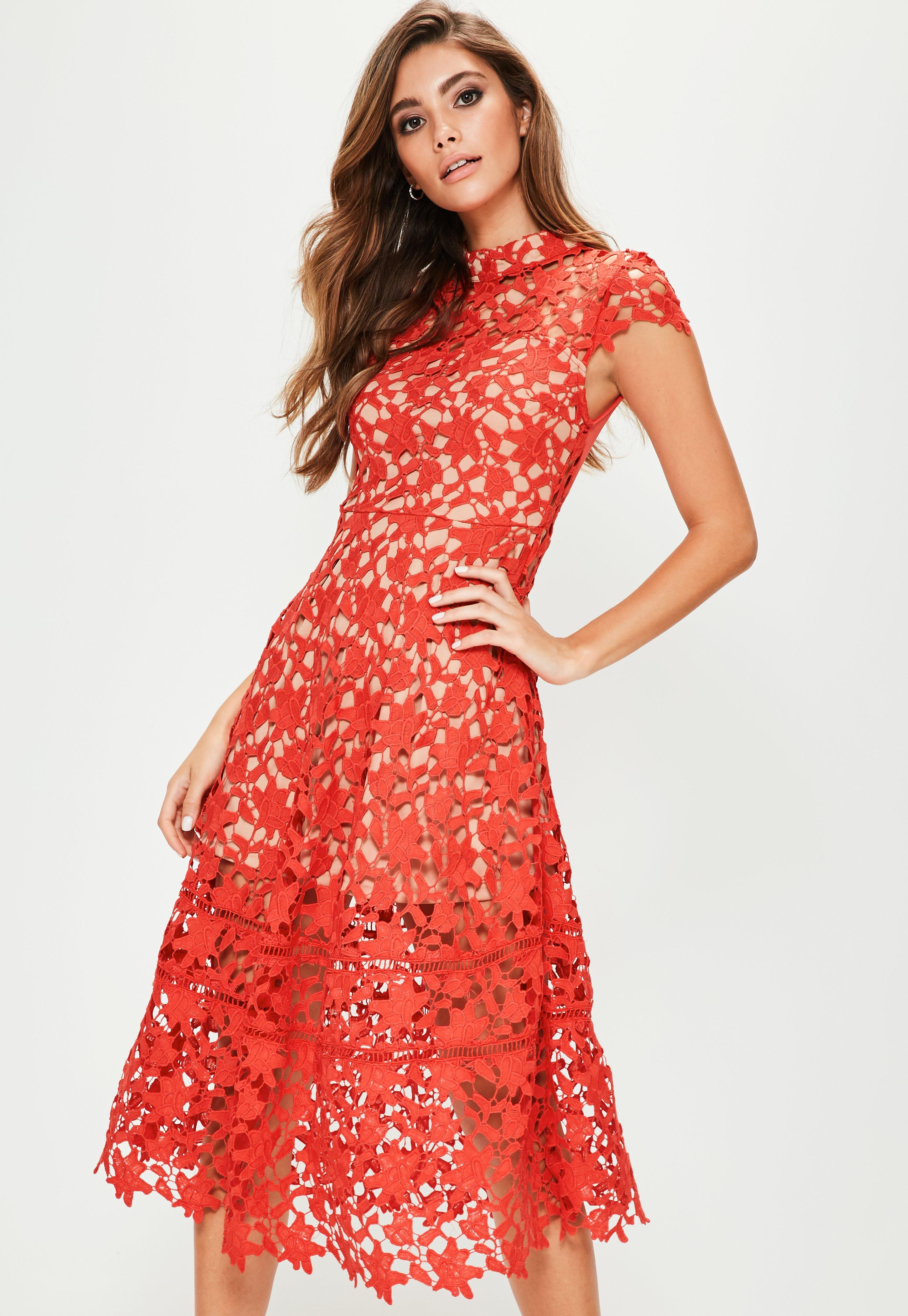 Multipurpose Red Short Sleeve Lace Midi Skater Dress Red Short Sleeve Lace Midi Skater Dress Red Lace Dress 16w Red Lace Dress Size wedding dress Red Lace Dress
