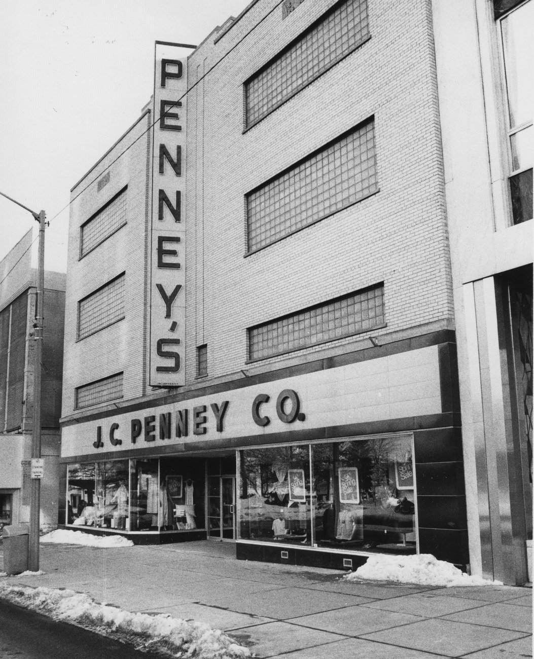 Warehouse In Michigan Peek Through Time J C Penney Co Joined Lengthy List Of