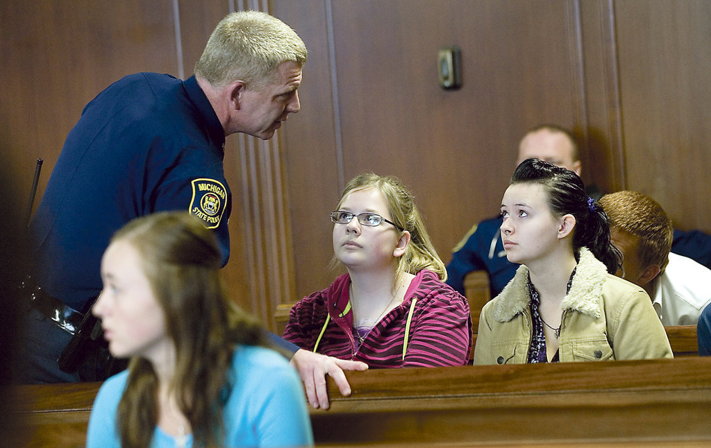 Today\u0027s top stories Students learn about legal system through job - high school job shadowing