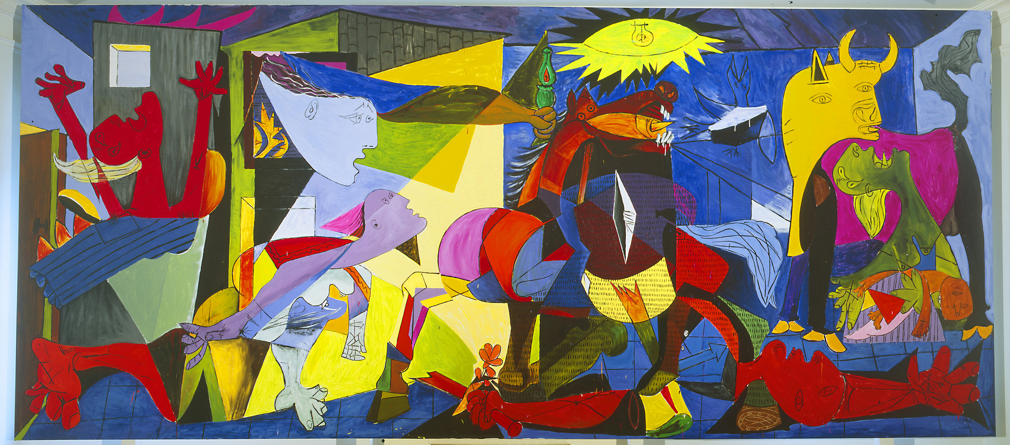 Guernica Cuadro Somewhere Over The Rainbow Distintas Versiones Del