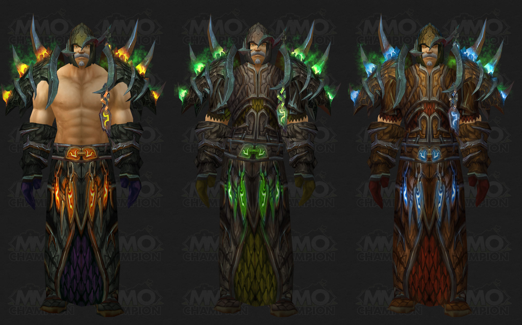Bad Set Champ Tier 11 Models Preview Mmo Champion