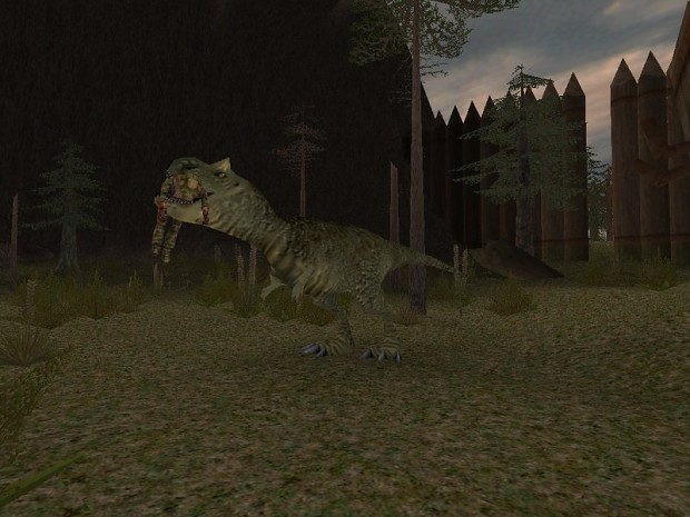 Jungle Animal Wallpaper Carnotaurus Image Carnivores 2 Mod Db
