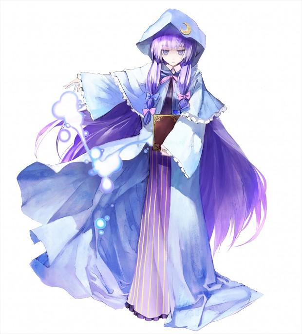 Ninja Girl Wallpaper Patchouli Knowledge Image Anime Fans Of Moddb Mod Db
