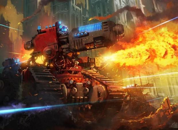Dev Hd Wallpaper Cult Mechanicus Image Warhammer 40k Fan Group Mod Db