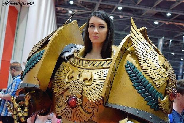 Pot Girl Wallpaper The Empress Of Mankind Image Warhammer 40k Fan Group