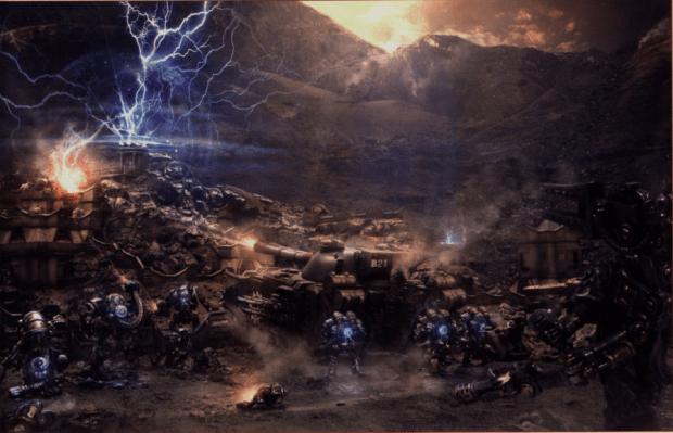 Dev Hd Wallpaper 30k Mechanicum Image Warhammer 40k Fan Group Mod Db