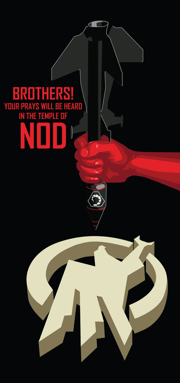 Peace Black Wallpaper Nod Propaganda Image The Brotherhood Of Nod Mod Db