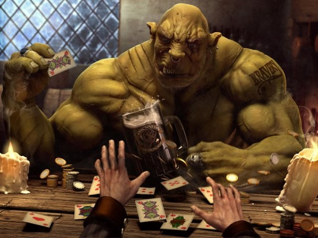 Club America Wallpaper 3d Poker Picture Image Orc Clan And Orks Fantasy And