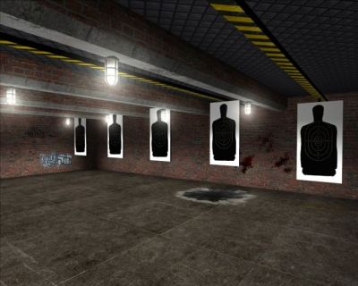 New shooting range image - Police Brutality mod for Half-Life 2 - Mod DB