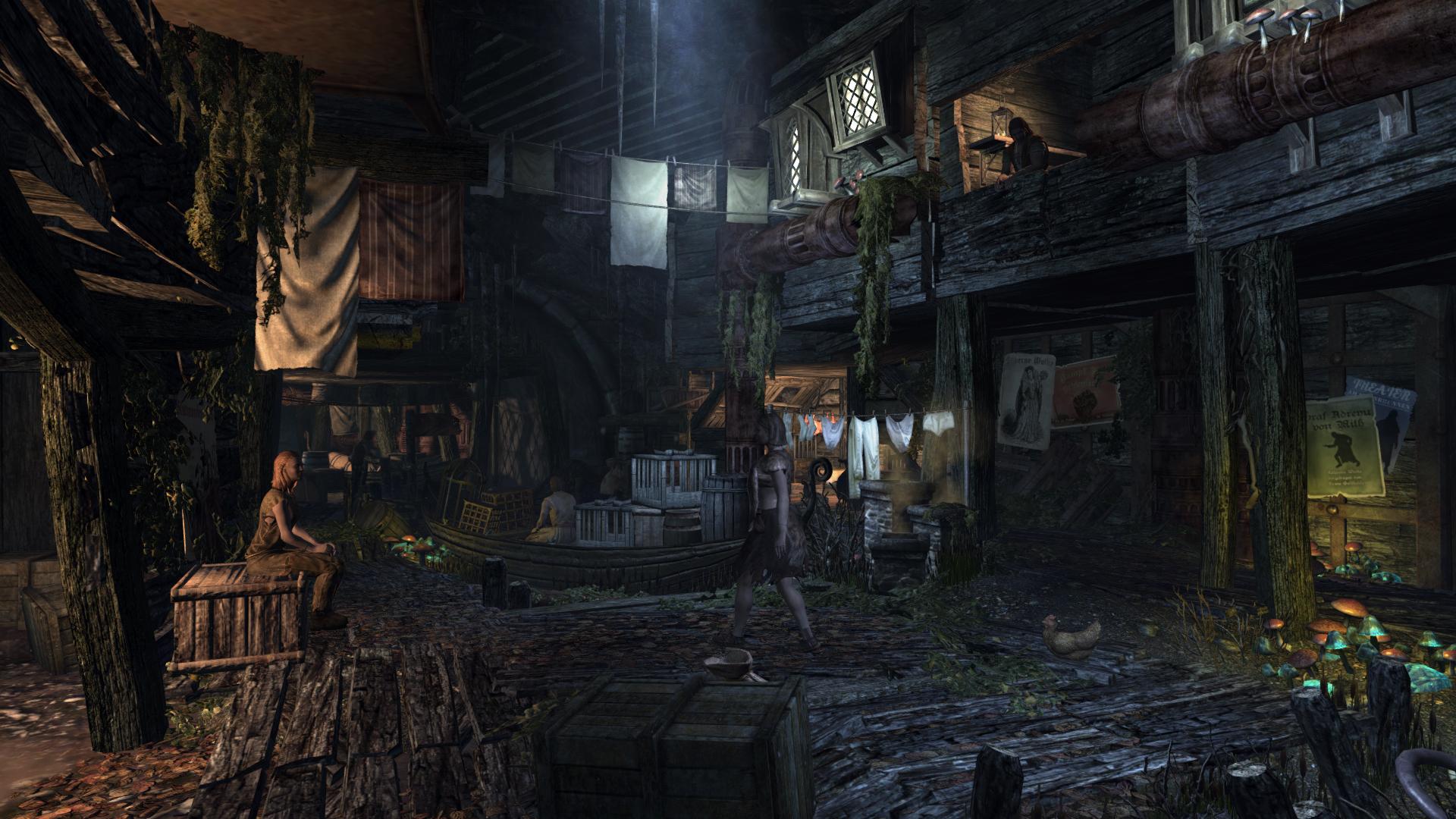 Biohazard Wallpaper 3d Short News The Undercity Enderal Mod For Elder Scrolls