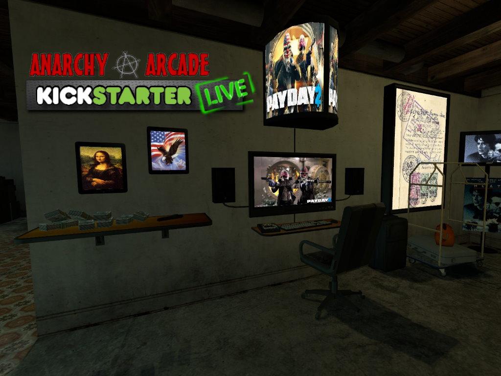 Android 3d Engine Live Wallpaper Anarchy Arcade Kickstarter Today News Aarcade Redux