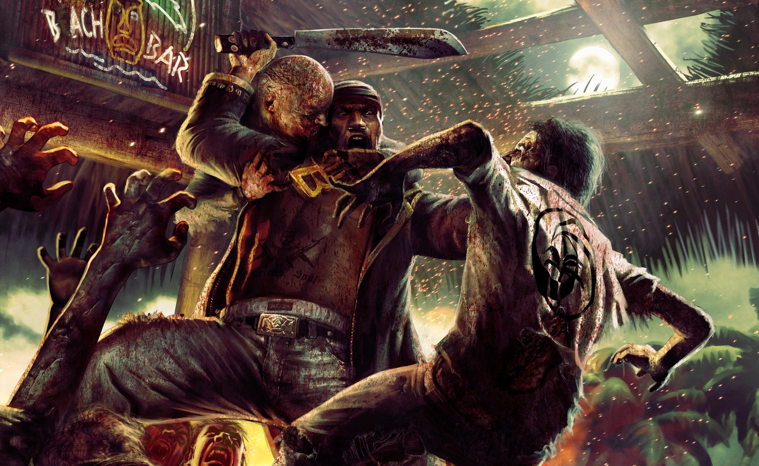 3d Art Street Wallpapers Game Competition Dead Island Collection News Mod Db