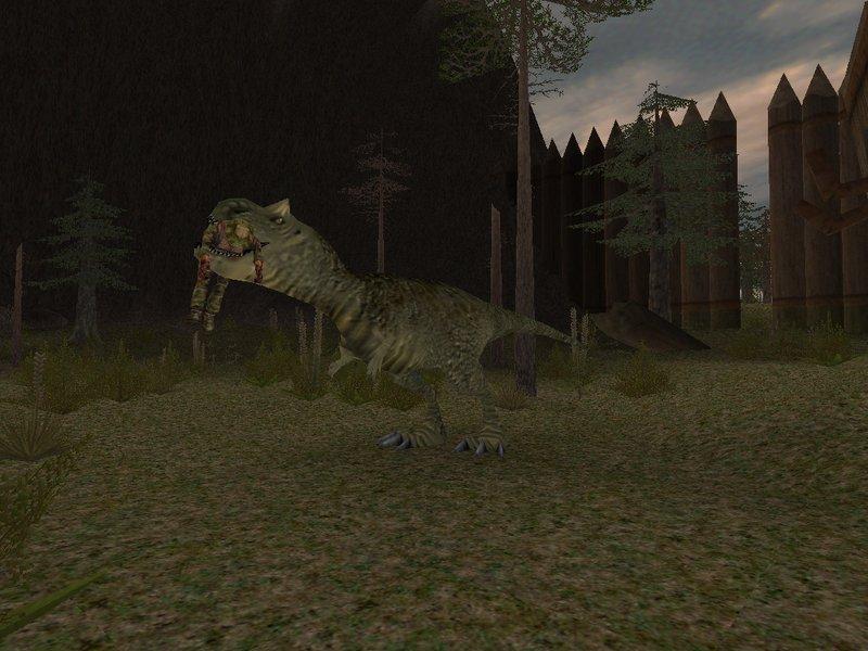 Jungle Animal Wallpaper Carnotaurus Image Carnivores 2 Mod Db