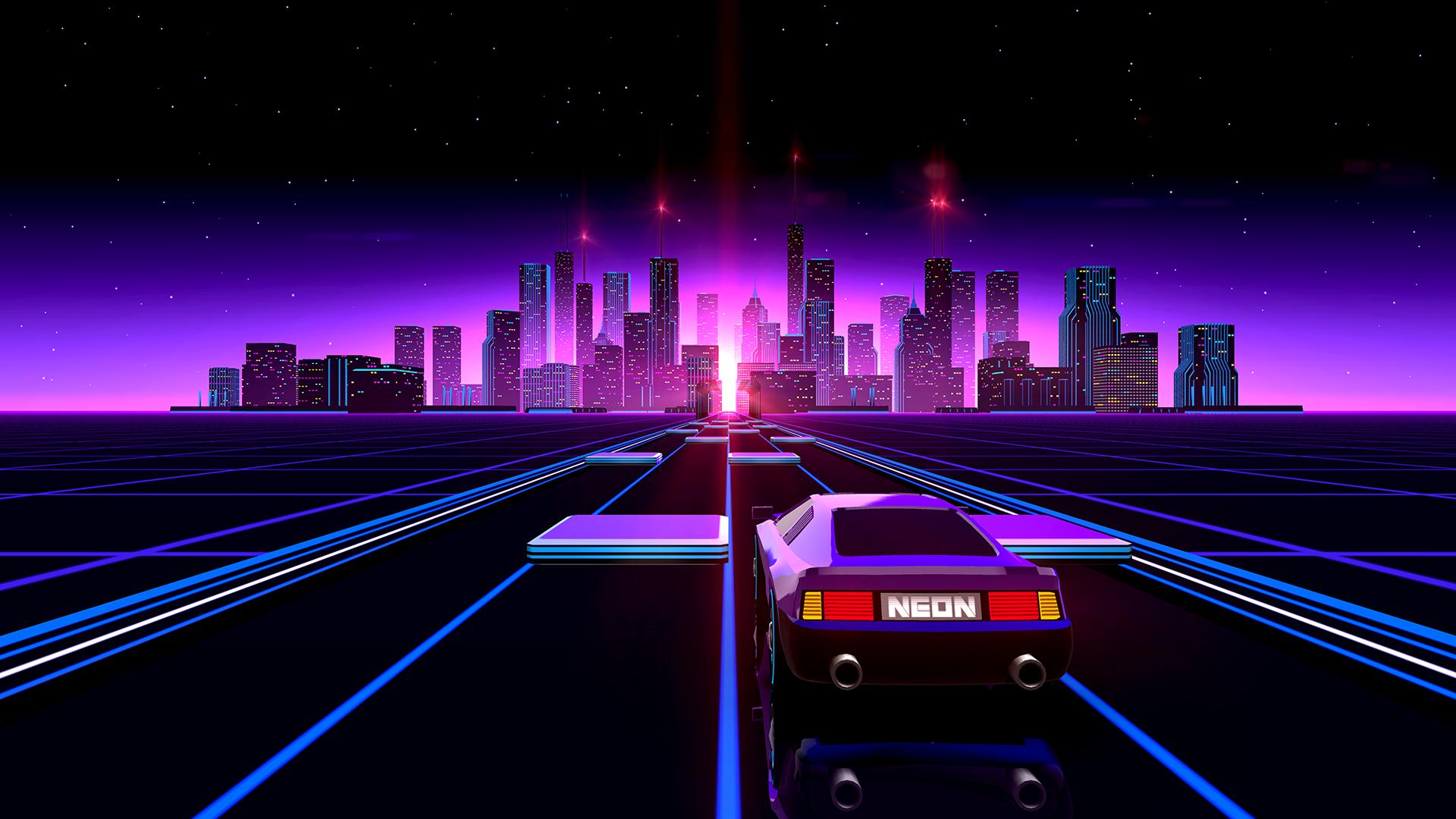 Chill Wave Car Wallpaper Neon Drive City Image Mod Db