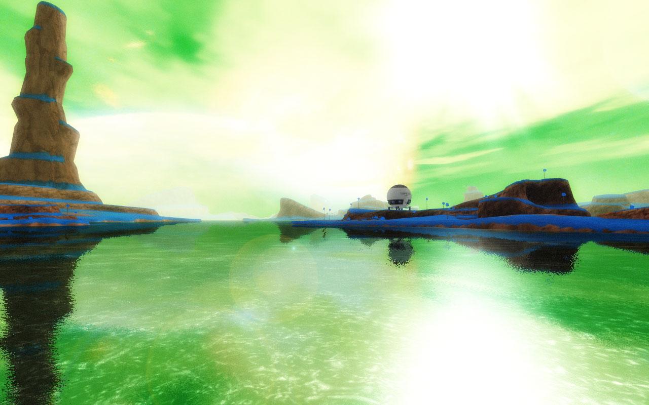Wallpaper Goku 3d Planet Namek Image Instinct221 Mod Db