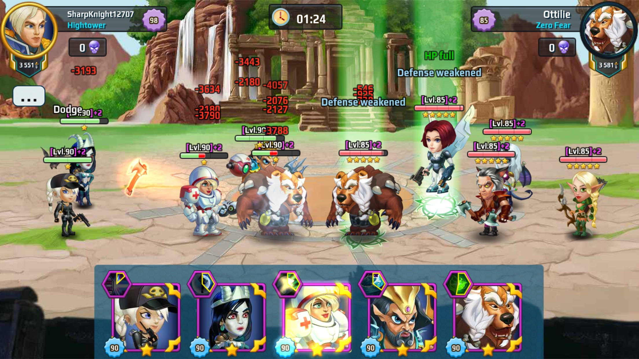 Arena Game Battle Arena Heroes Adventure Ios Android Game Mod Db