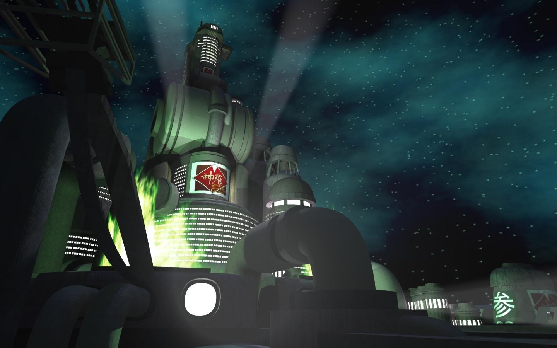 Ff7 Wallpaper Hd Killerx S Midgar Image Mako Dawn Mod For Fallout 3 Mod Db