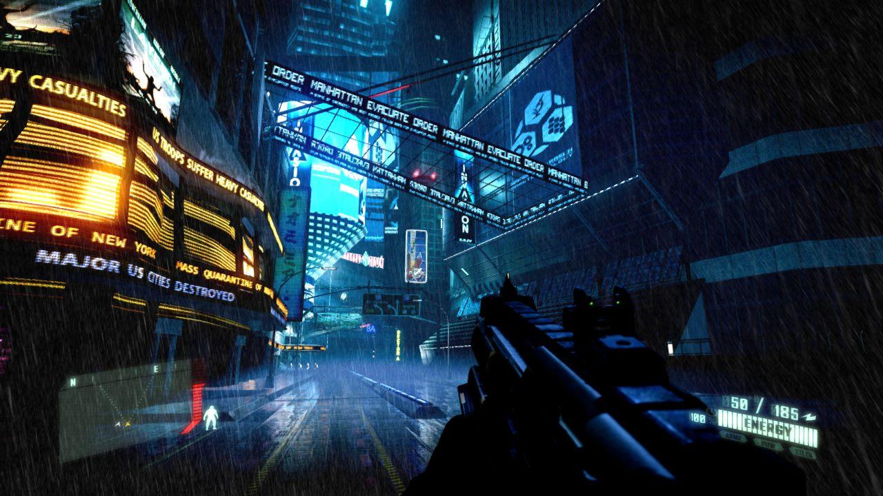 Fall Out 4 Hd Wallpapers Screenshot Image Cyberpunk Crysis Mod For Crysis 2 Mod Db