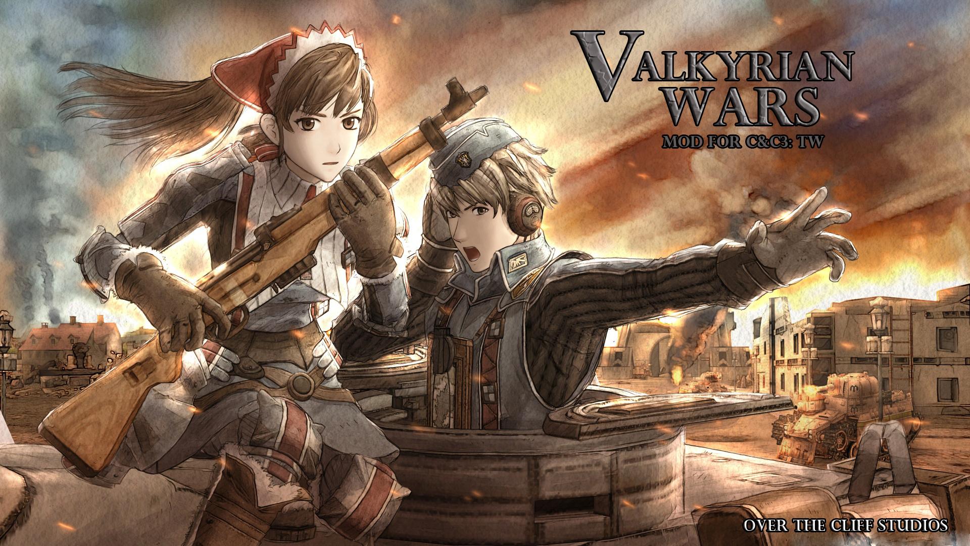 Wallpaper Engine Gun Anime Girl Valkyrian Wars Mod Mod Db