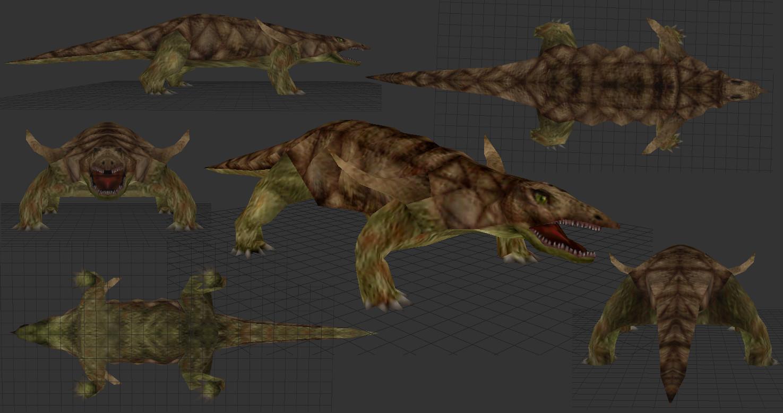 Saber Tooth Tiger 3d Wallpaper Desmatosuchus Image Carnivores Triassic Mod For