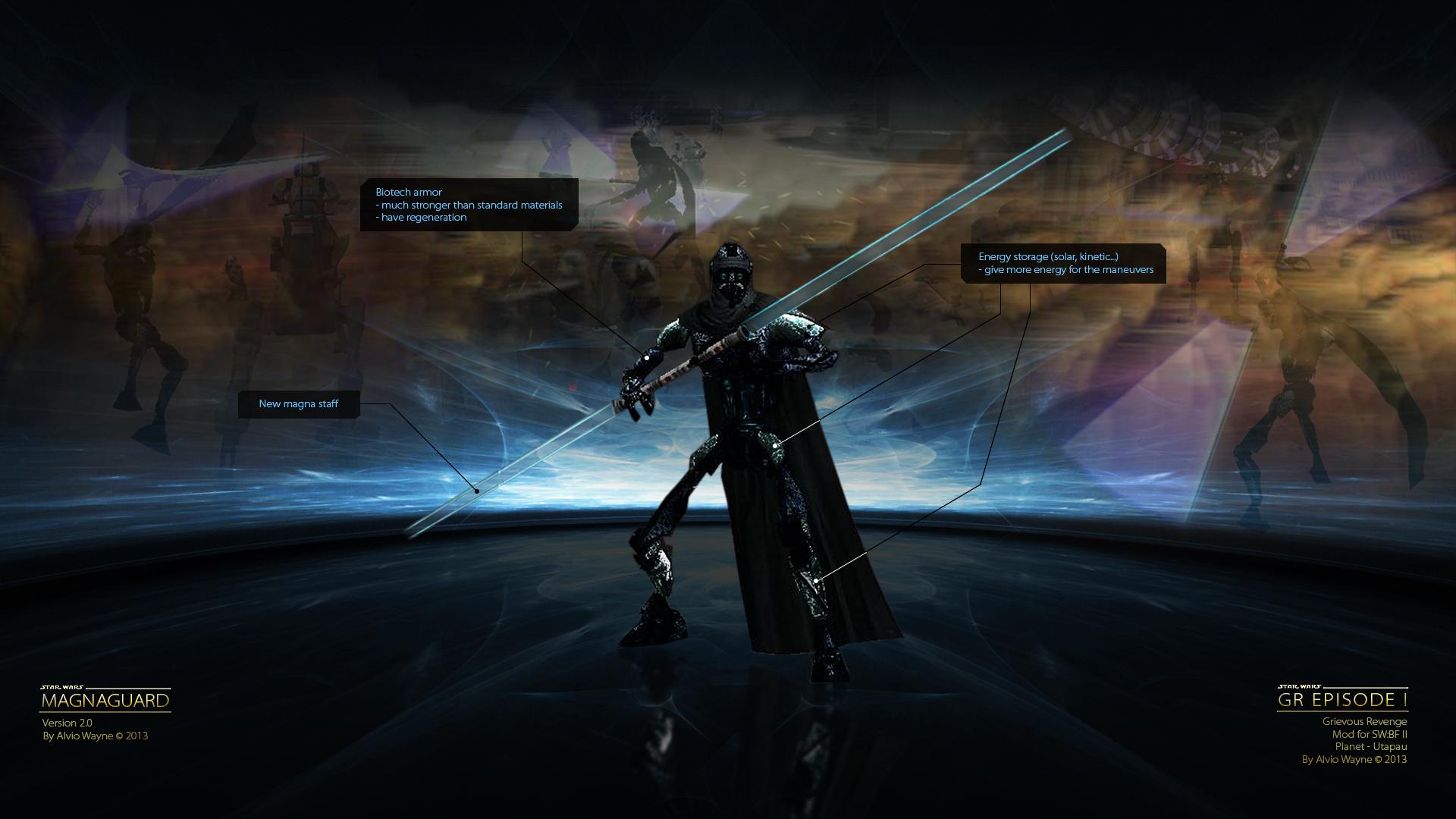 Heroes Evolved Hd Wallpaper Magnaguard V2 0 Alpha Image Grievous Revenge Mod For
