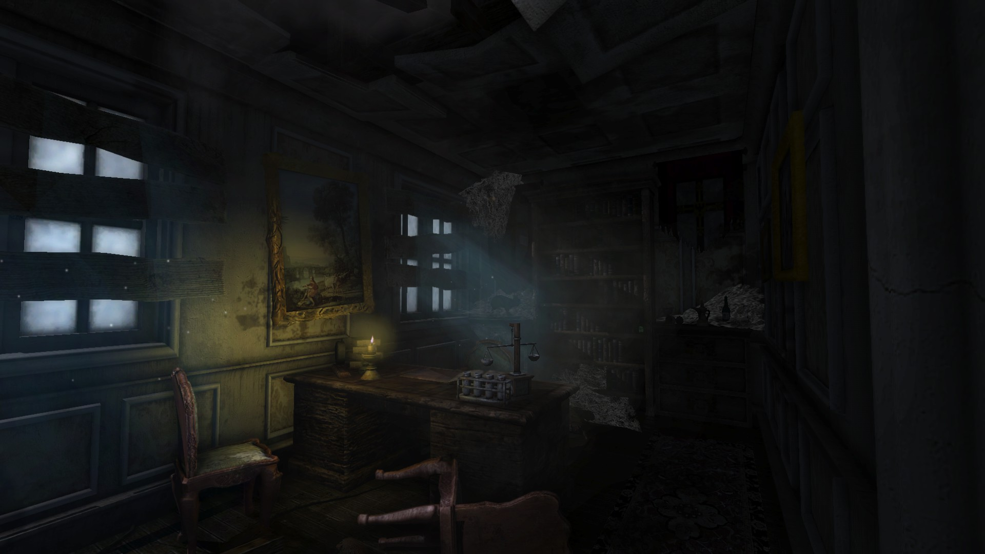 Dark 3d Wallpaper For Android In Ruins Mod For Amnesia The Dark Descent Mod Db