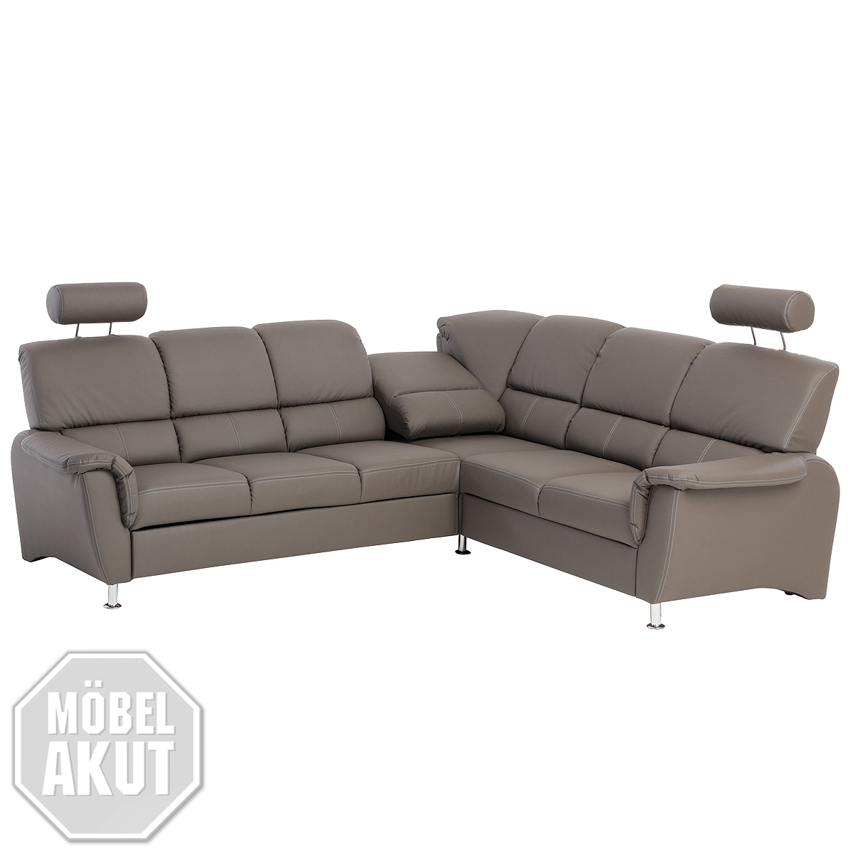 Ecksofa Piazza Sofa In Grau Sofa Sedda Impuls Grau Martinotti Sofa