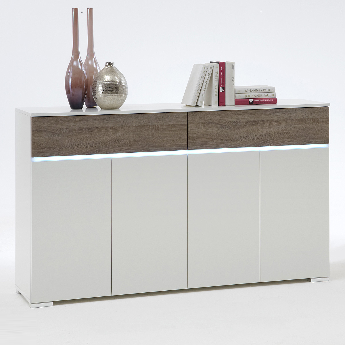 Sideboard Calpe Eiche Antik Sonoma Kommode Perfect Fabulous Affordable Good Highboard Uquot