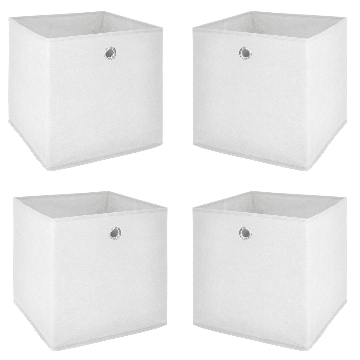 Korb Regal Faltbox 4er Set Flori 1 Korb Regal Aufbewahrungsbox In