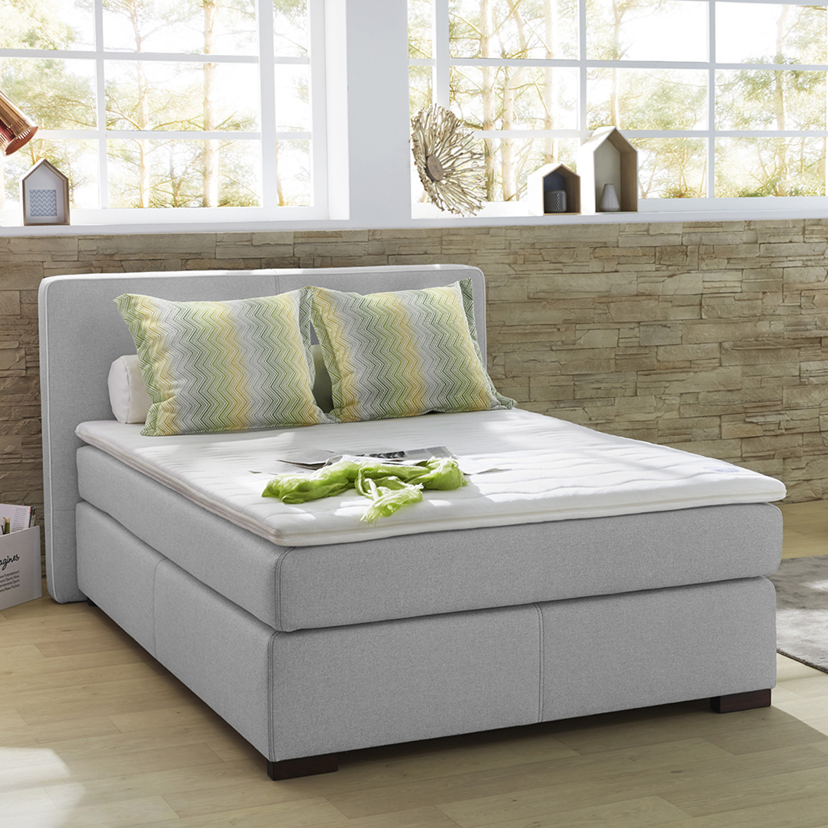 Boxspringbett Your Home Bett 140x200 Boxspringbett Boxspringbett Bx 300 Bett