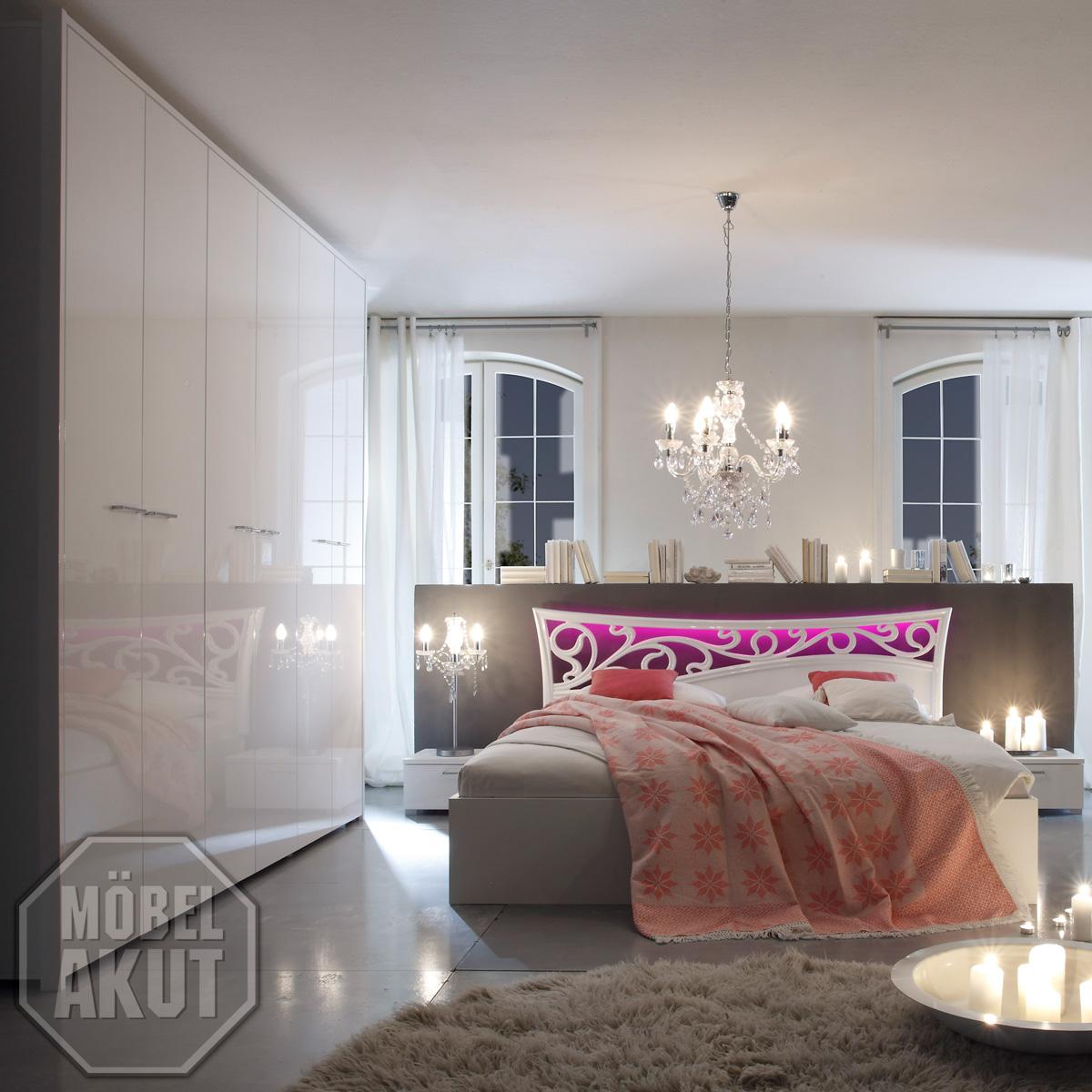 Schlafzimmer Komplett Glanz
