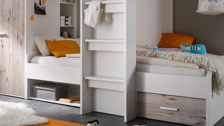 Etagenbett Weiss 90x200 : Kinderbett etagenbett hochbett kinder bett holz betten stockbett