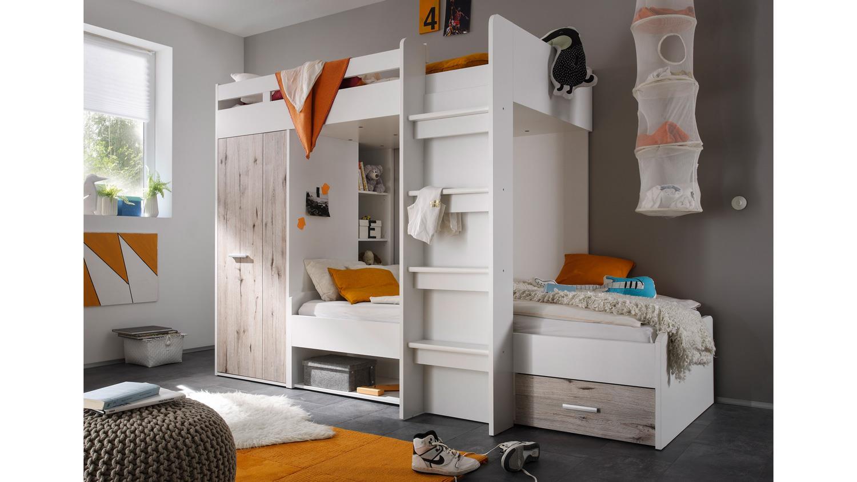 Etagenbett Kinder Weiß : Gute qualität aus holz etagenbett in weiß einzelbett dachboden