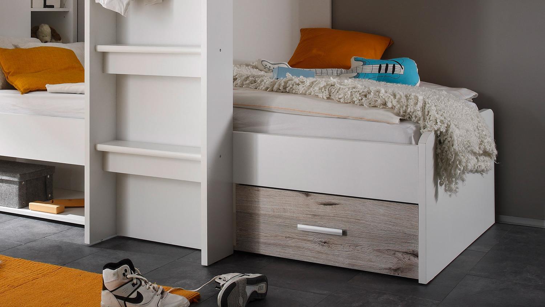 Etagenbett Drei Betten : Kinder etagenbetten aus massivholz für kinderzimmer