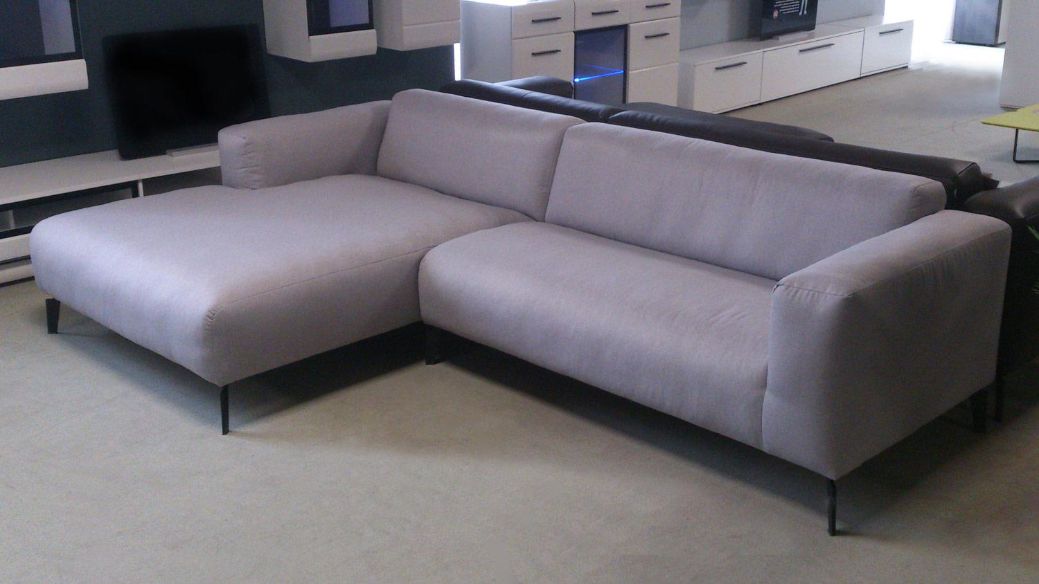 Freistil Sofa Rolf Benz Freistil 186 Ecksofa Links Bezug Hellgrau Stoff