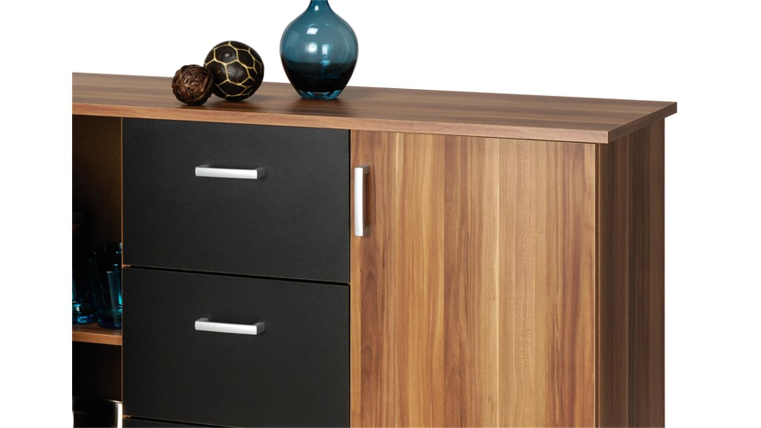 Sideboards Lugano Sideboard Braun Walnuss Interior Kommode Walnuss Luxurises Und Groes Haus Kommode Nussbaum