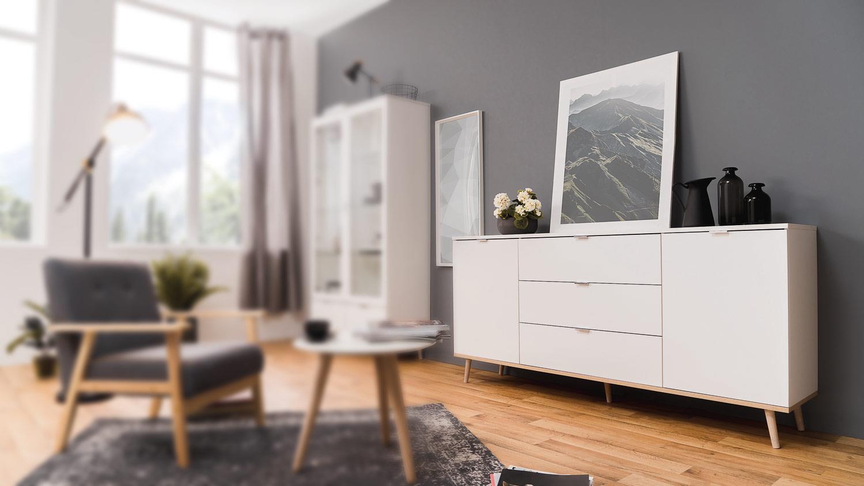 Sideboard Skandinavisch | Skandinavische Wohnmöbel Bei Cnouch Kaufen